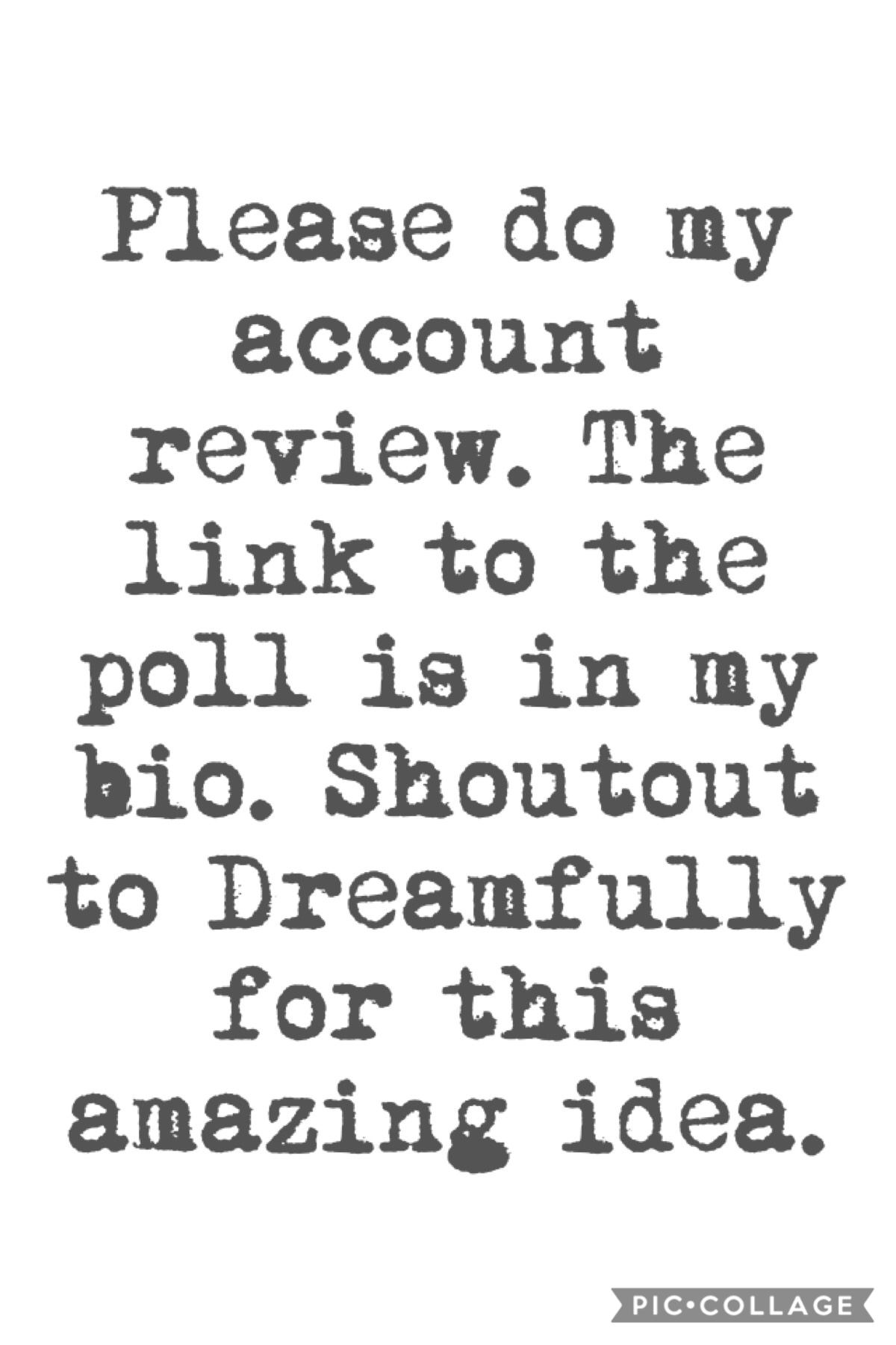 Plz do the review! Thanks Dreamfully!