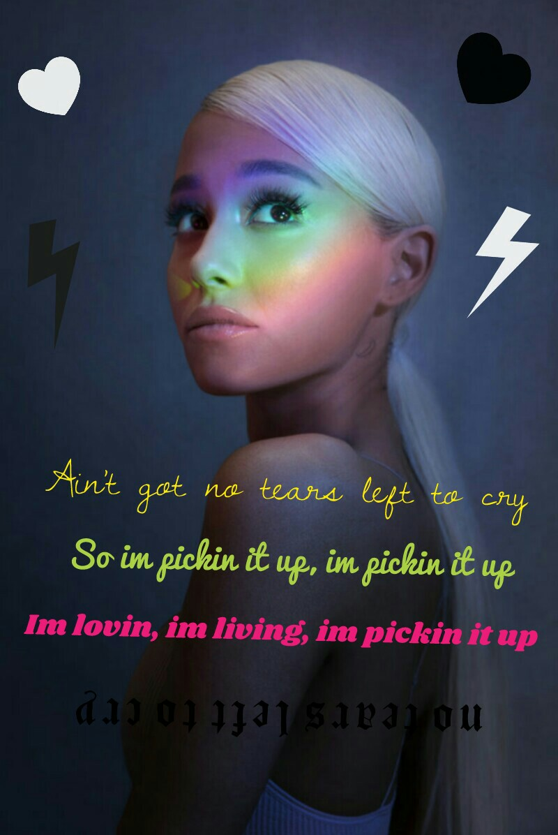 "(TAP) ""no tears left to cry"" Like If You Like That Song💖 Ft Arianna Grande👑🌼💜"