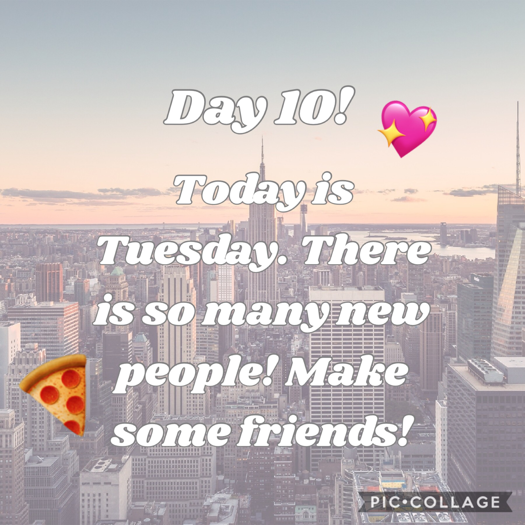 Tap 💖 stands for my friend audreyhepburn24 and the 🍕is my friend Fun-Life.