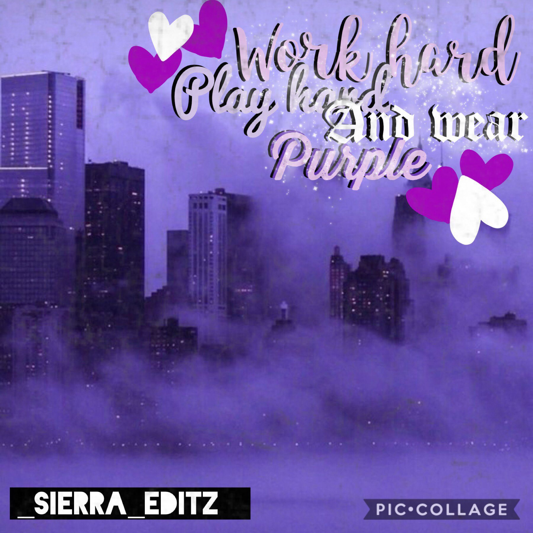 Hiya:) Tap 💜My name is Sierra and I'm new! Here's a first post for you made by me! Wanna be friends?💜