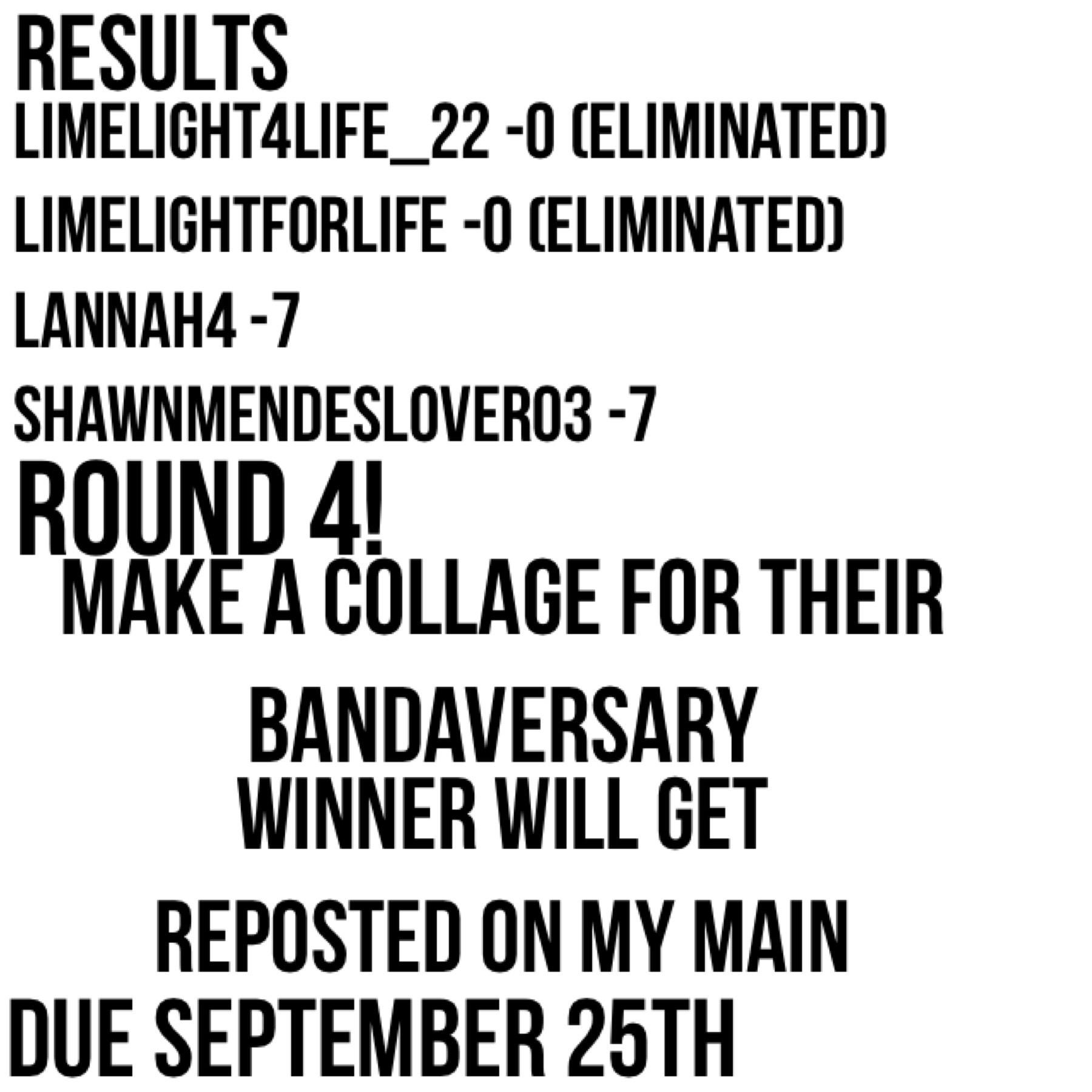Round 4!!!!