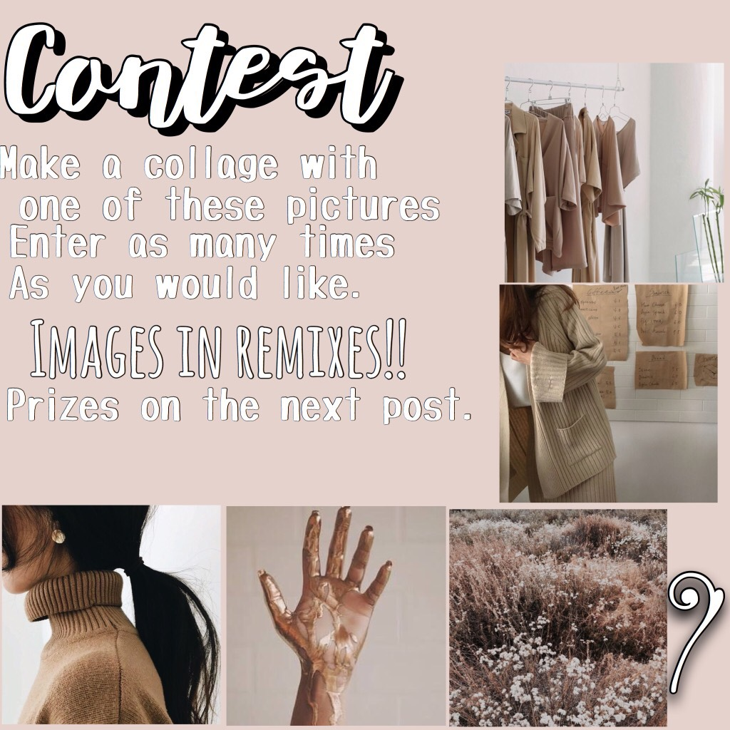 Click for more info  Contest!! All you need to do is make any type of collage you want with one of the images(go to the remixes to collect. )  Due by the 31st of March. Rules: no copying. Enter as many times as you want !!!   Contest prizes on next post.