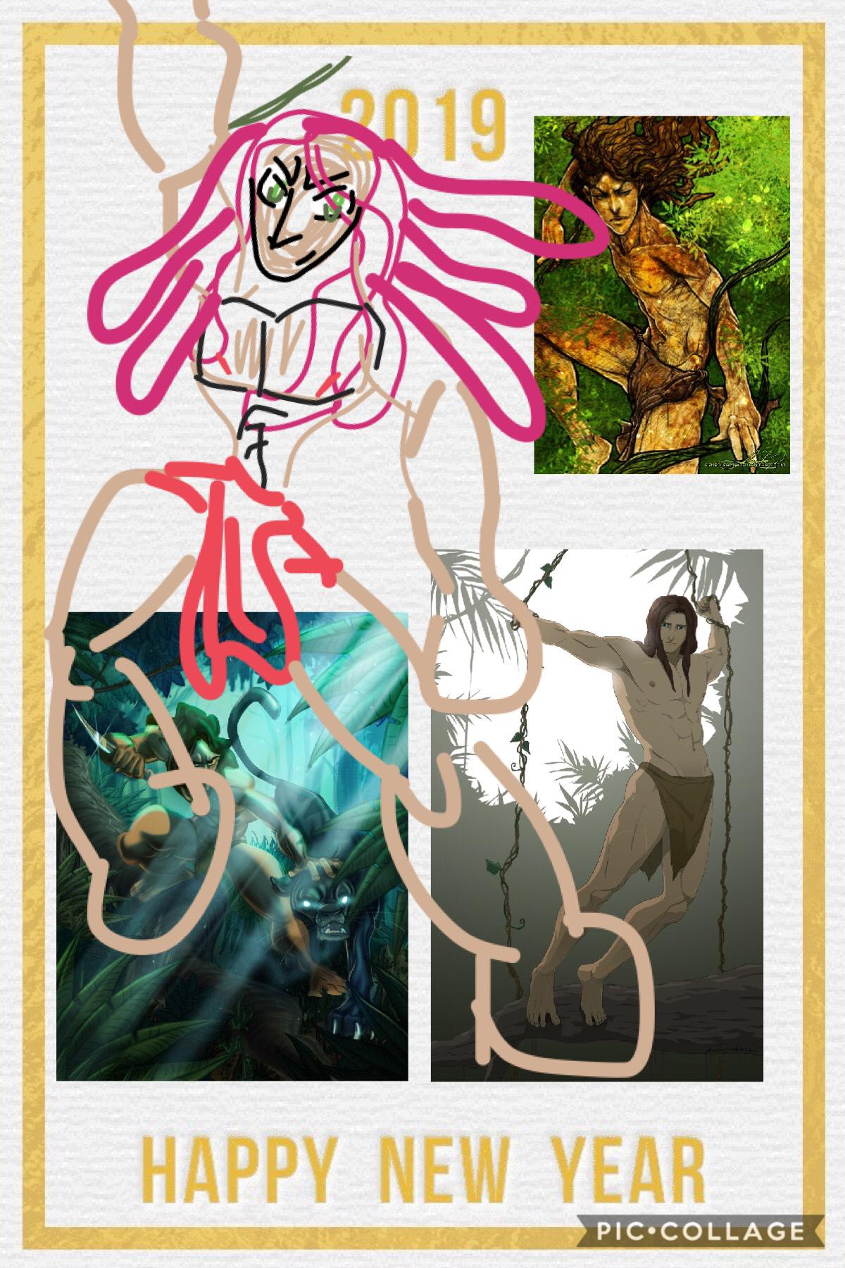 Disney's Tarzan: happy new year!