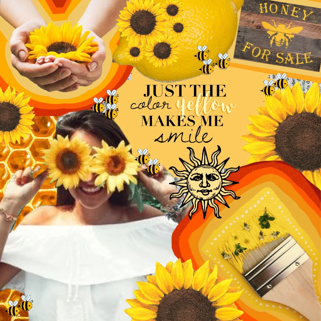 I luv the color yellow! What about u??? Sorry I haven't posted in a couple days, I was running out of inspiration, and this collage took a couple of days.🌻💛🍋⭐️👑🐱🐝🌼☀️🌙🍍🏵🚕⚱📒⚜