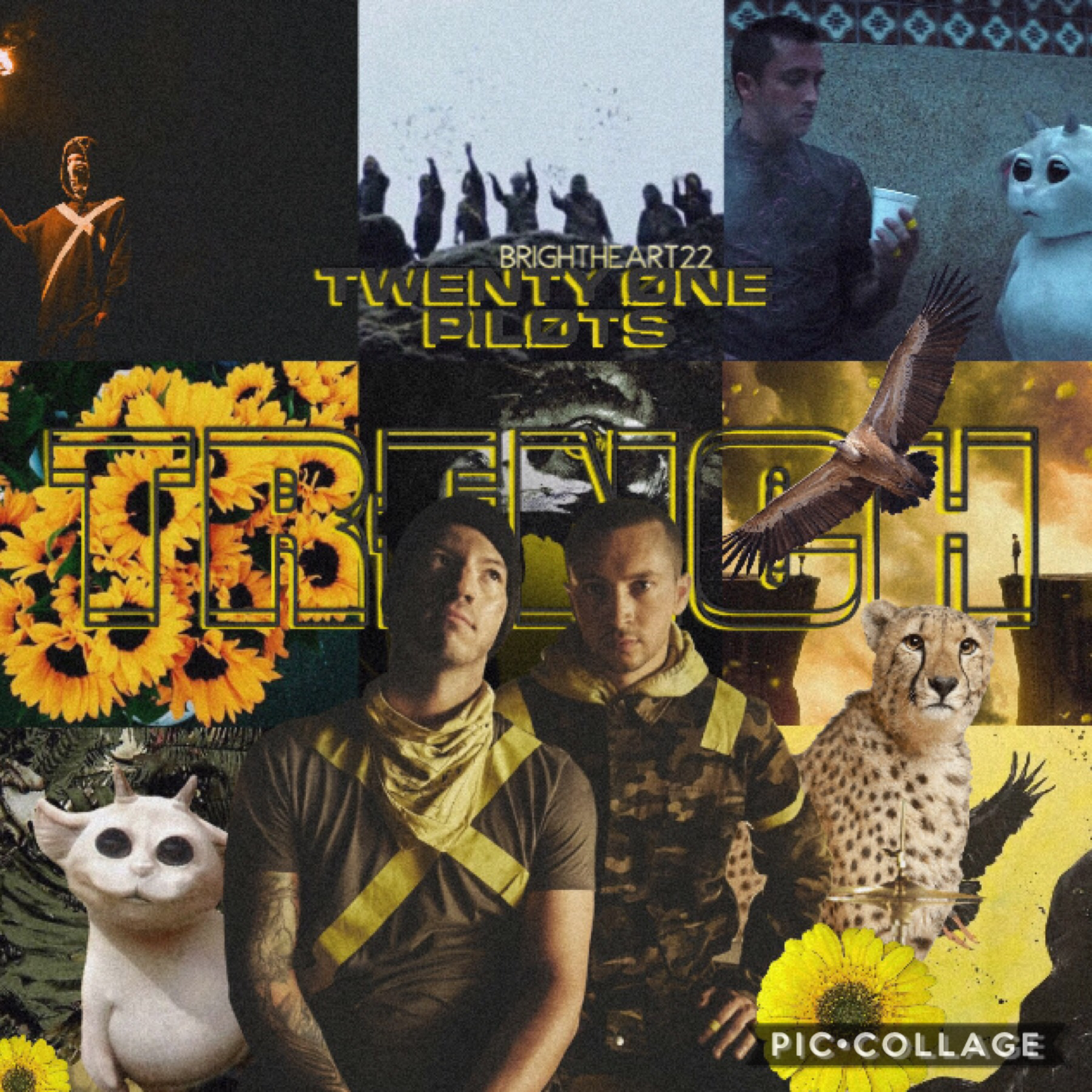 🌻TAP THE SUNFLOWER🌻 Hey! 👋🏻  I didn't have any inspo so here's a Trench Era edit I love them sm  Have a great day! -Brightheart22
