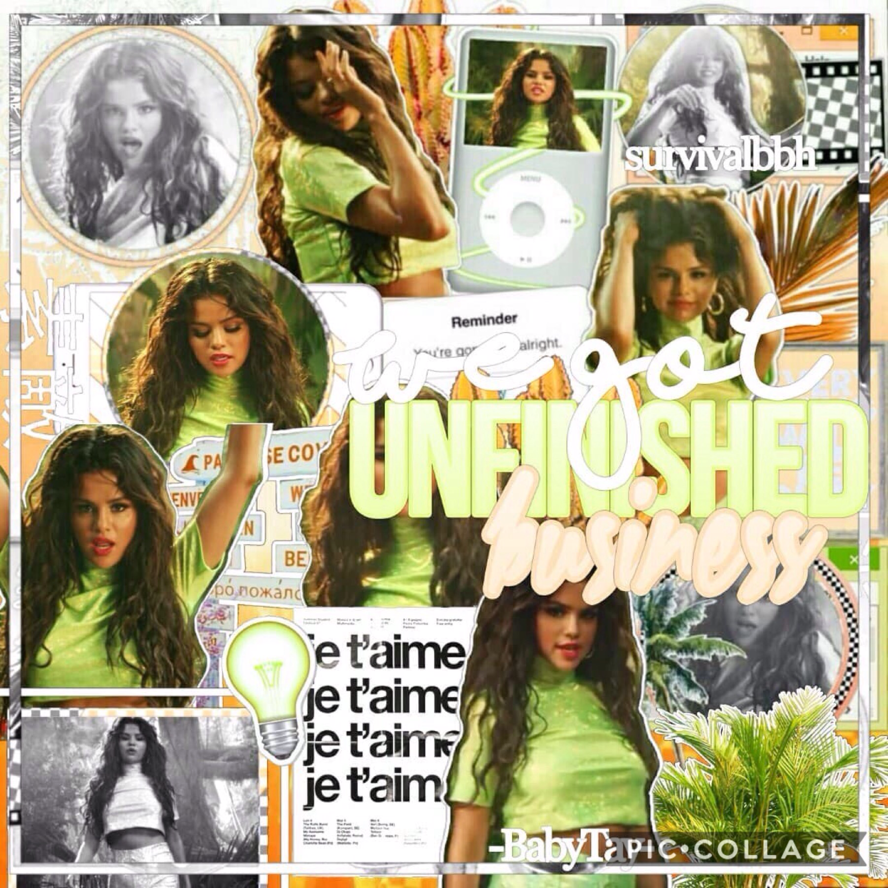 collab with @-babytay-😍!! Next week i'll start posting collages that i did by myself i'm so excited💚