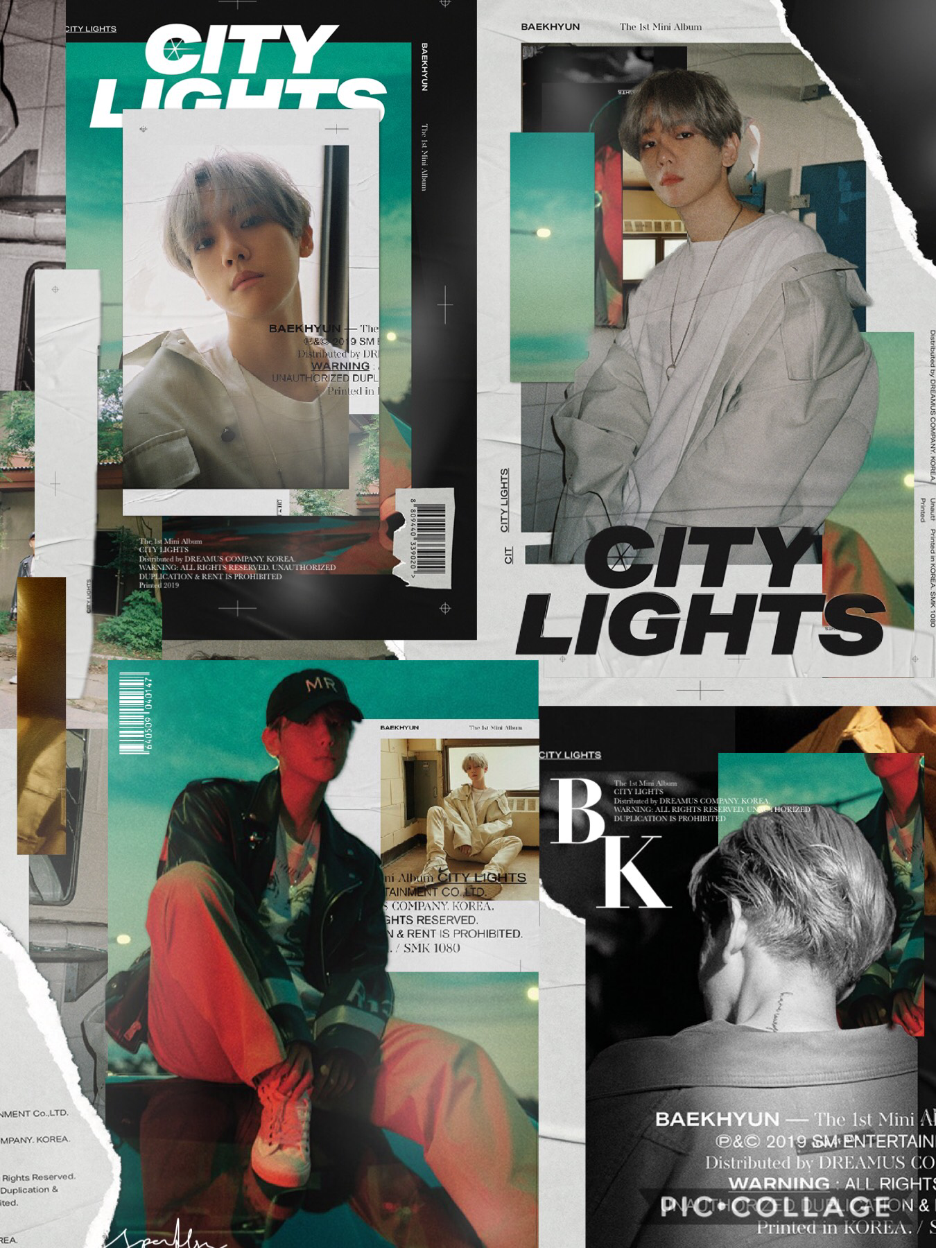inspired from Baekhyun's concept photos, added with a bit of my own style  SM's photography and graphic designs are seriously like so pretty😭😍💖