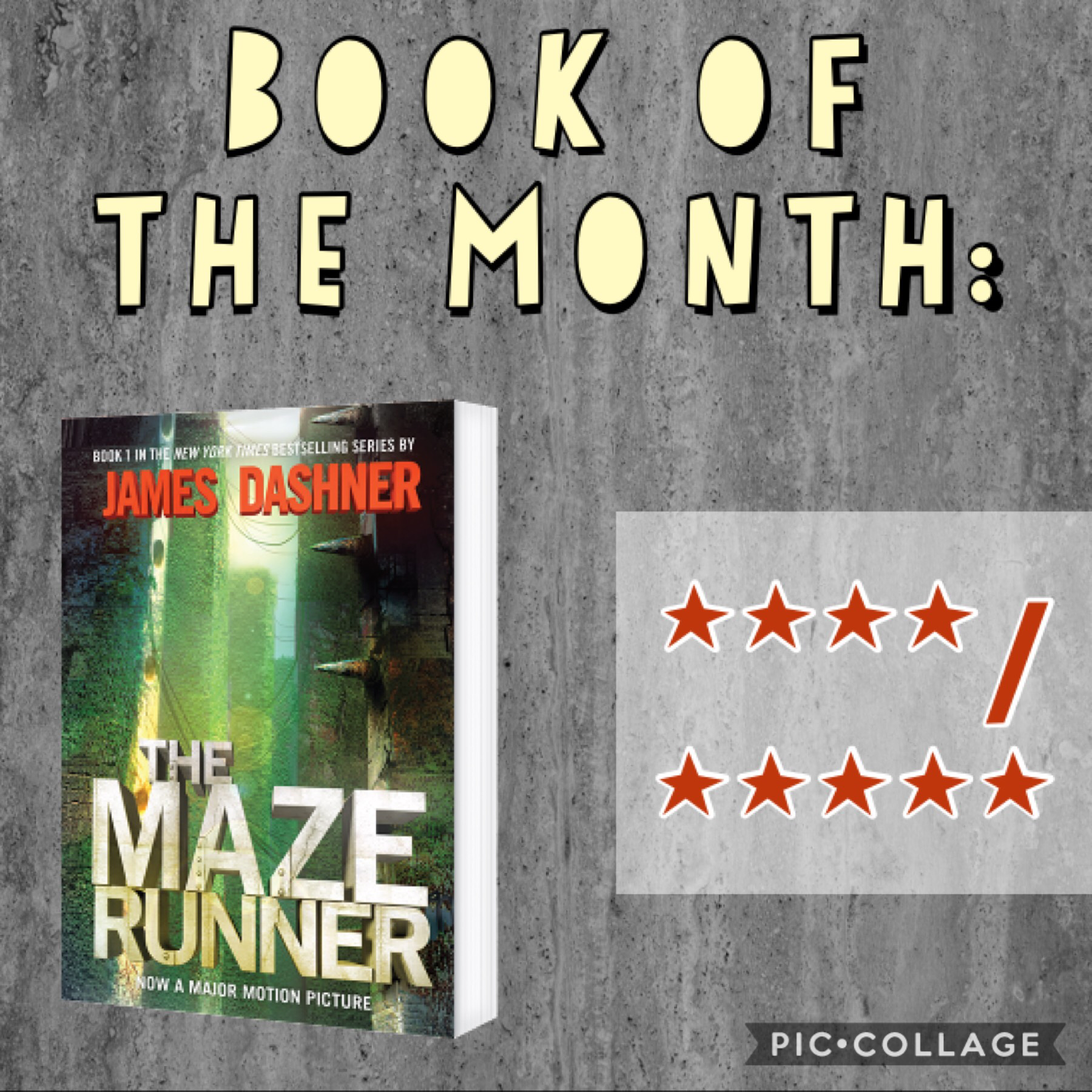 BOTM! 📚 I finally started this last week, it was in my b-day haul last year if anyone remembers. 😅 🗓 I'm half done with it, so I posted this now. 🏃🏻‍♂️🏃🏼‍♂️🏃🏽‍♀️ It's pretty good. 👌🏻 I literally haven't read since last year. 😵 Also, it was snowing... 🥶