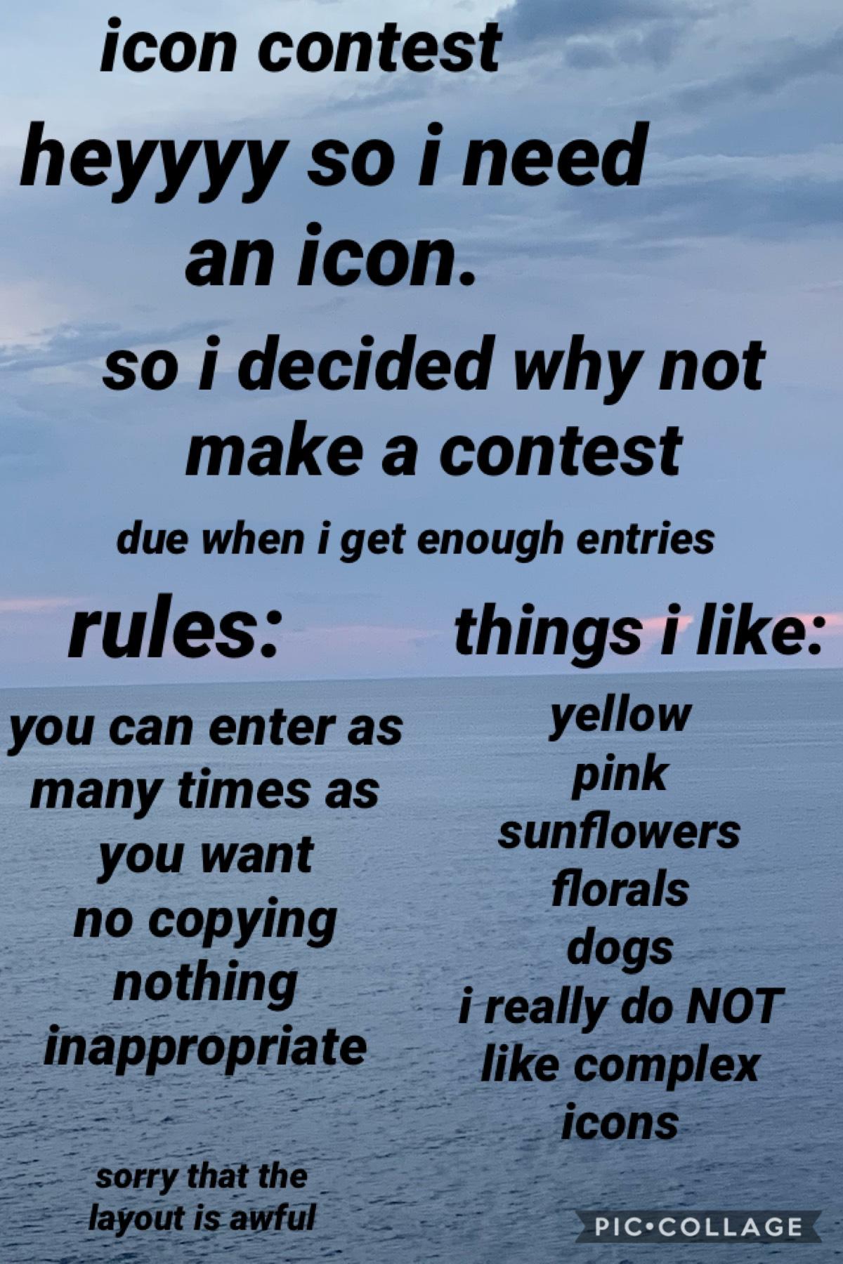 icon contest lol