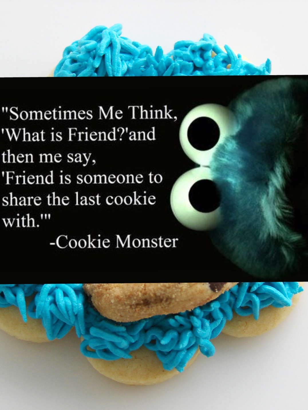cookie monster quotes - 640×960