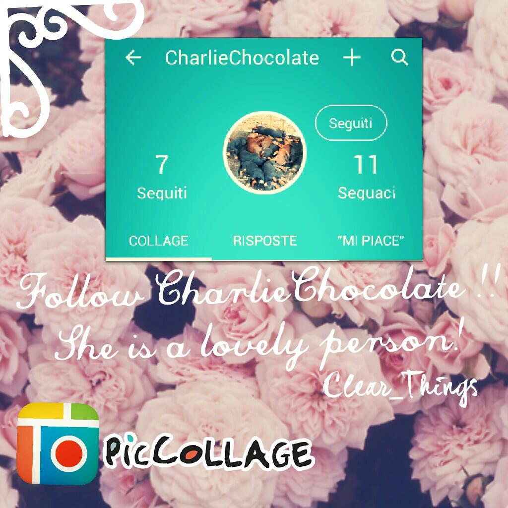 ●Follow CharlieChocolate! ●
