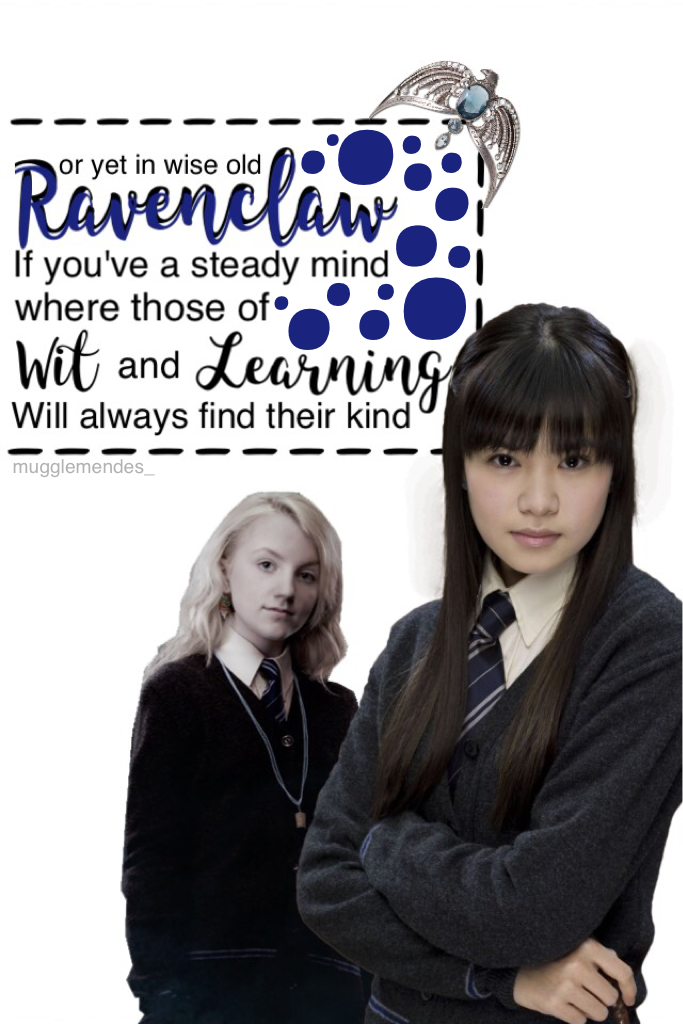 I'm not a ravenclaw but i just thought you guys would appreciate this! 😄