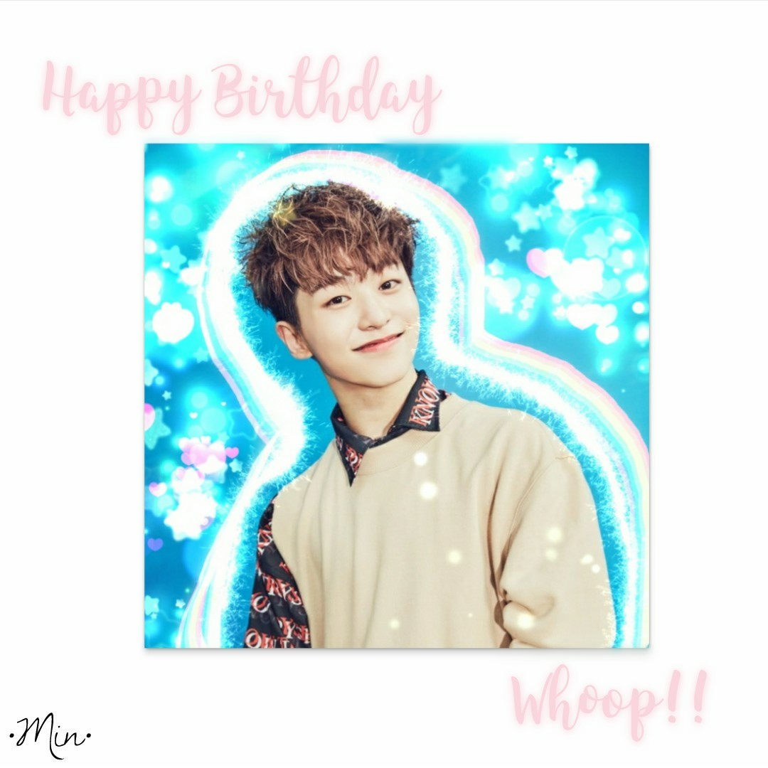 Happy birthday Whoop ❤️❤️❤️❤️ Ily ❤️❤️ Also lol u gotta invite me to ur wedding with Minseok 😂😂😂👌 Also editing the picture in this took wayyyy longer than intended but ok ig it looks fine 😅