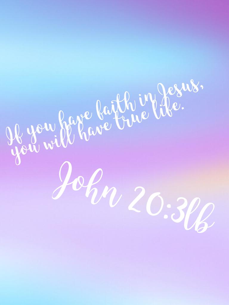 John 20:3lb