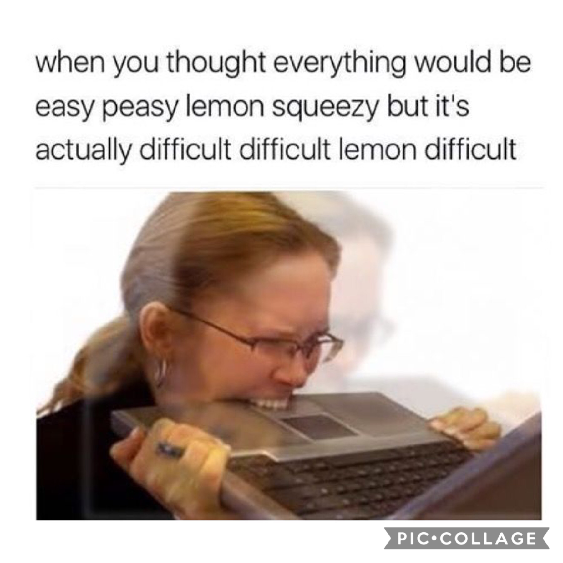No lemon squeezey!?  This is a disaster
