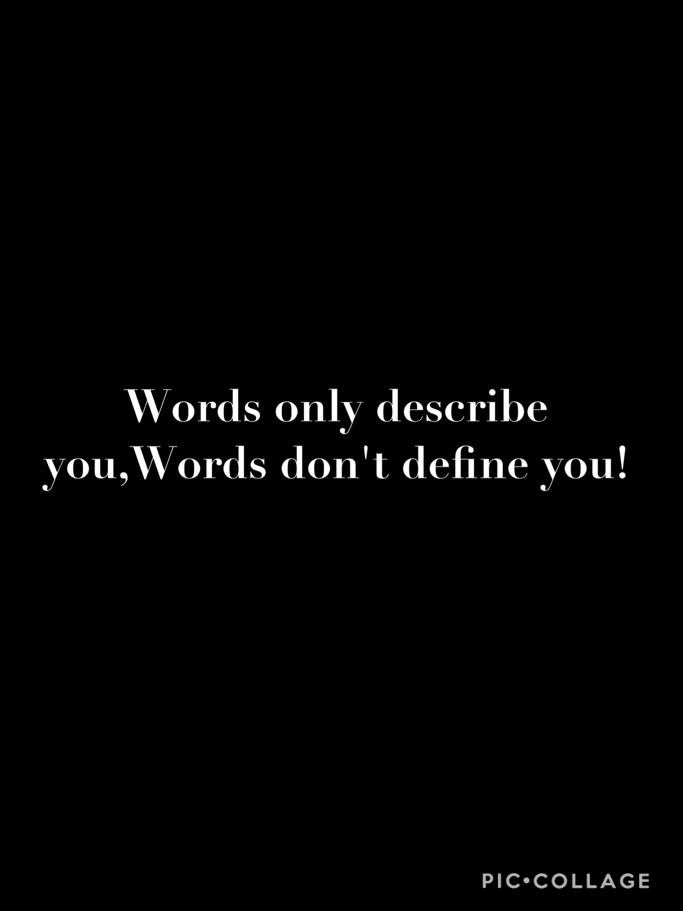 Don't get hurt when people call you bad words that have nothing to do with you! 05/01/21