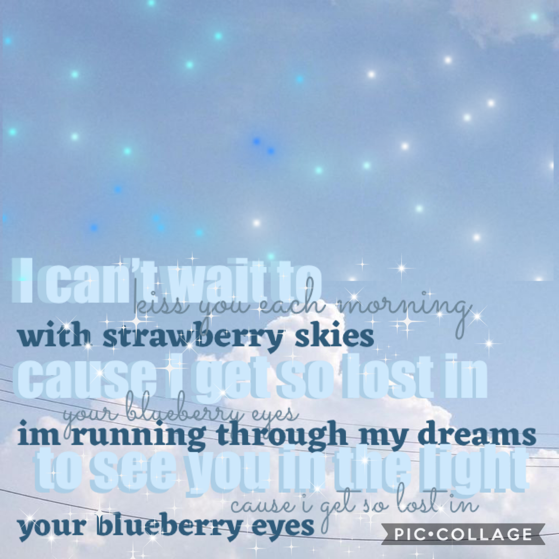 "🧵tap💍 hey! I'm back!  listen to ""blueberry eyes"" by MAX"