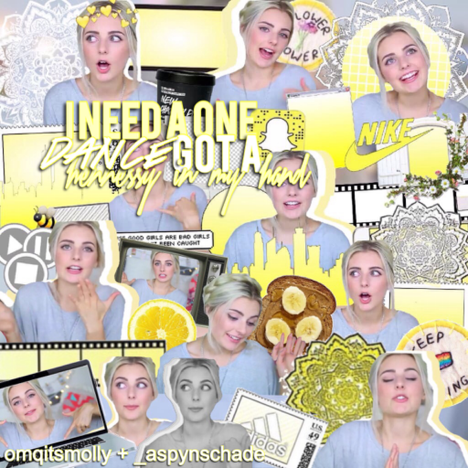 Collab with the AMAZING Molly! Follow all these wonderful girls I Collab with!!