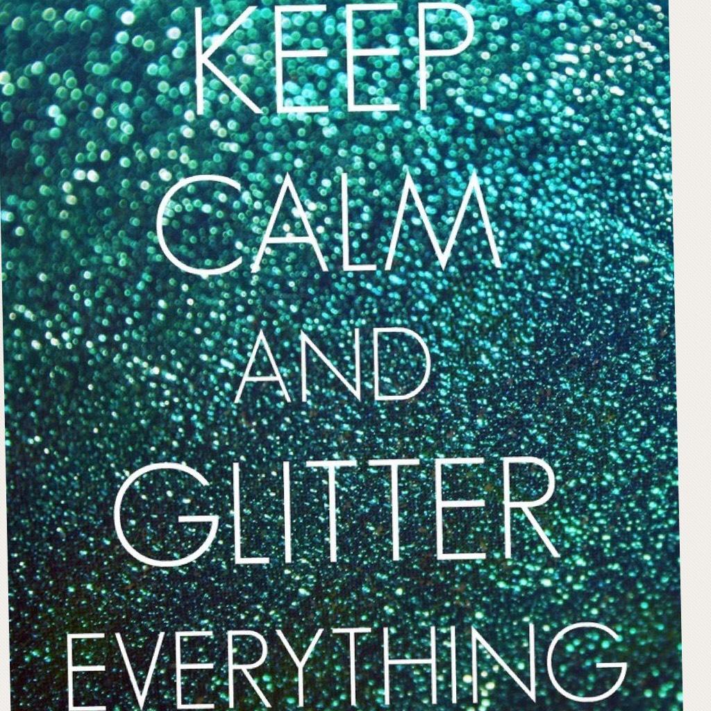Glitter it up.