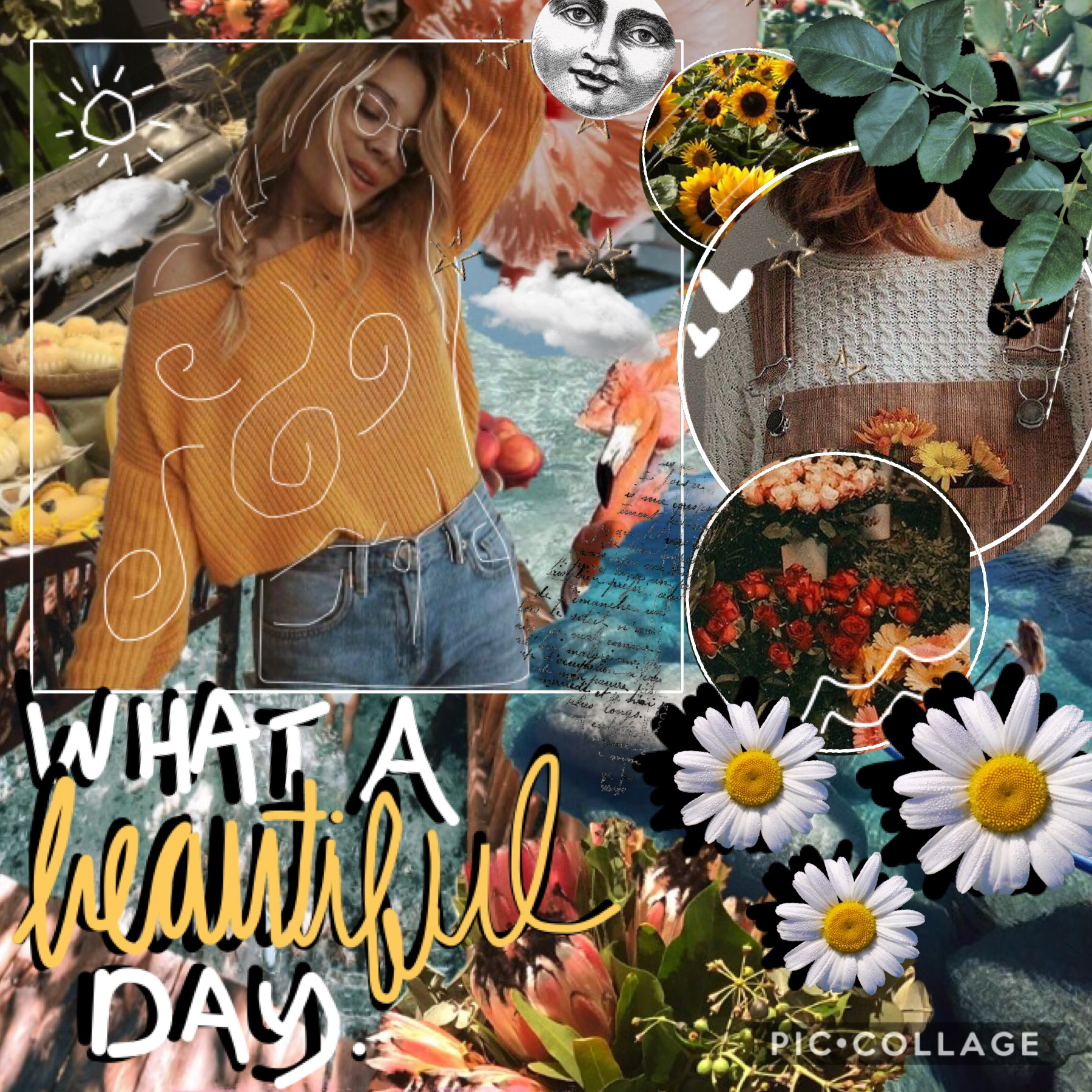 🌻tap🌻  ...and what a bad collage 😂  ITS THE LAST DAY OF SUMMEr AND I AM SAD