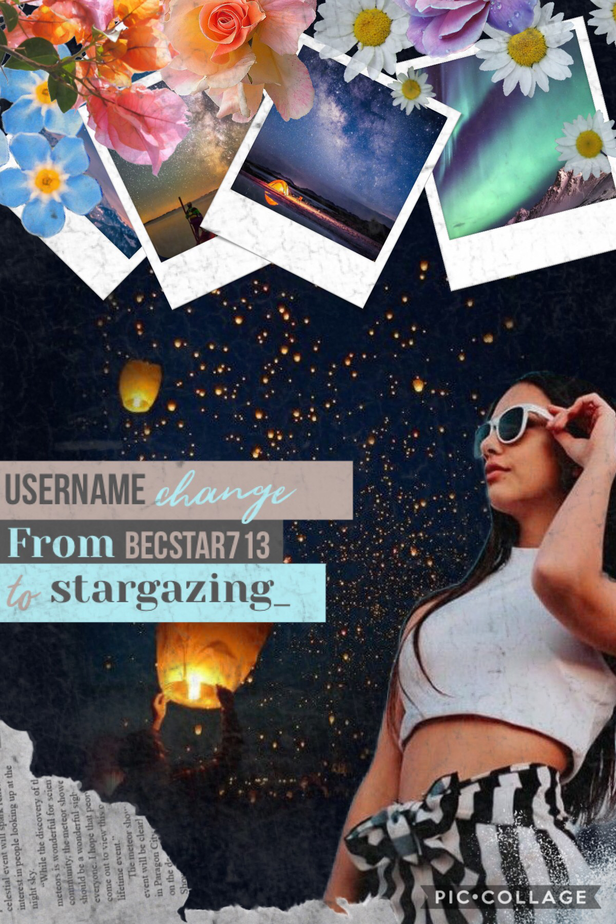 Username Change!!! TAP Becstar713 To stargazing_  I'll change my extras and follows accounts usernames soonish 💐