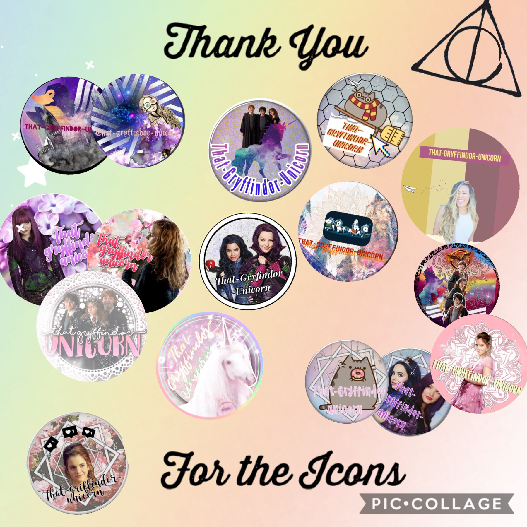 🍩Tappy🍩  My updated wall of Icons, thank you to all those people who put so much time and effort into making me an icon!❤️
