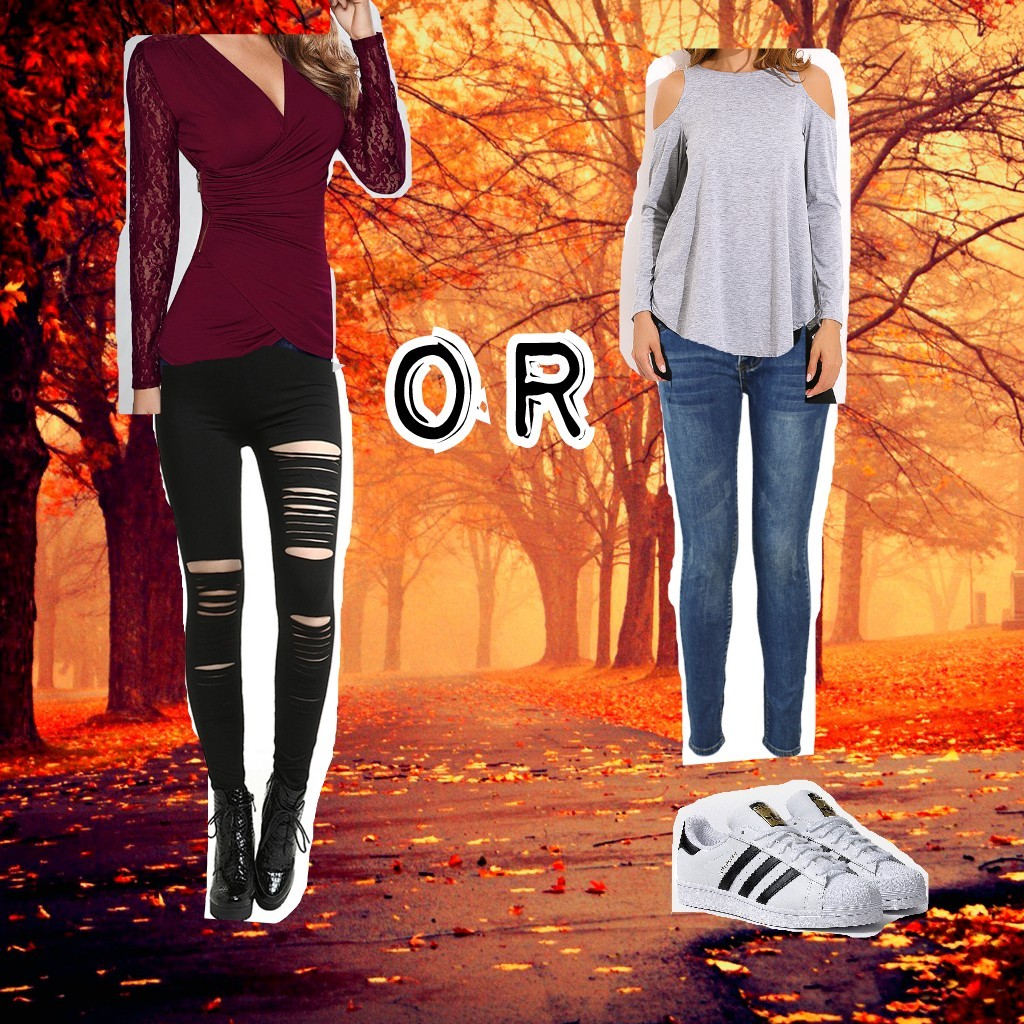 which autumn outfit 🍁