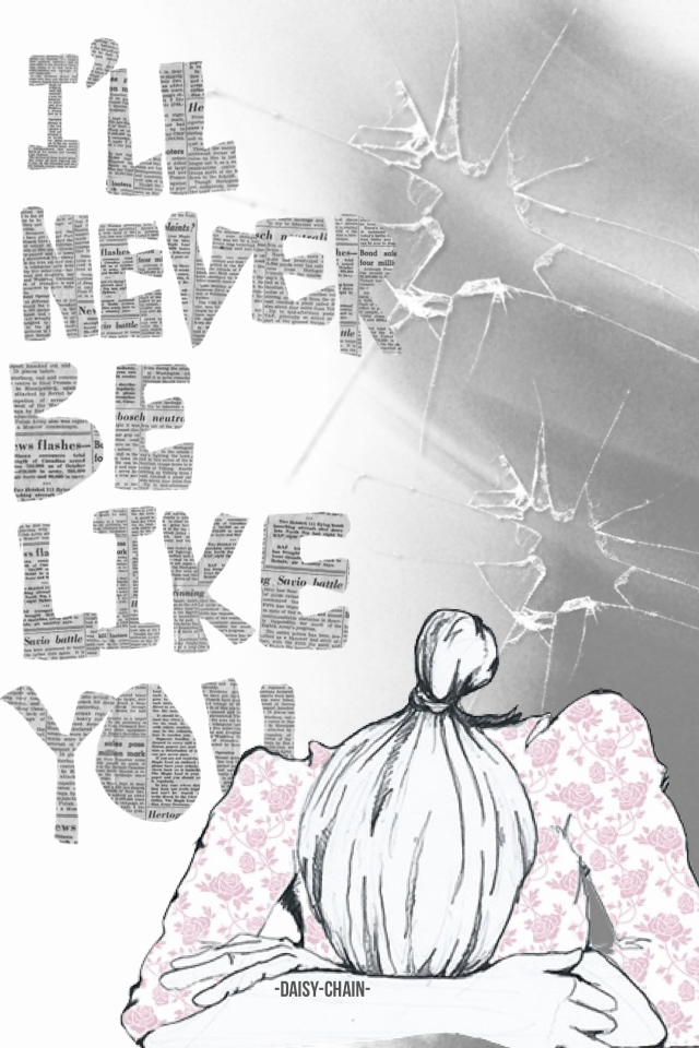 anyone heard this song?? anyway it's by someone called flume (he's Australian) and it's called never be like you and you should really go and check it out *warning there is swearing...  & sorry for the wait to post something is sorta become a habit.. :(((