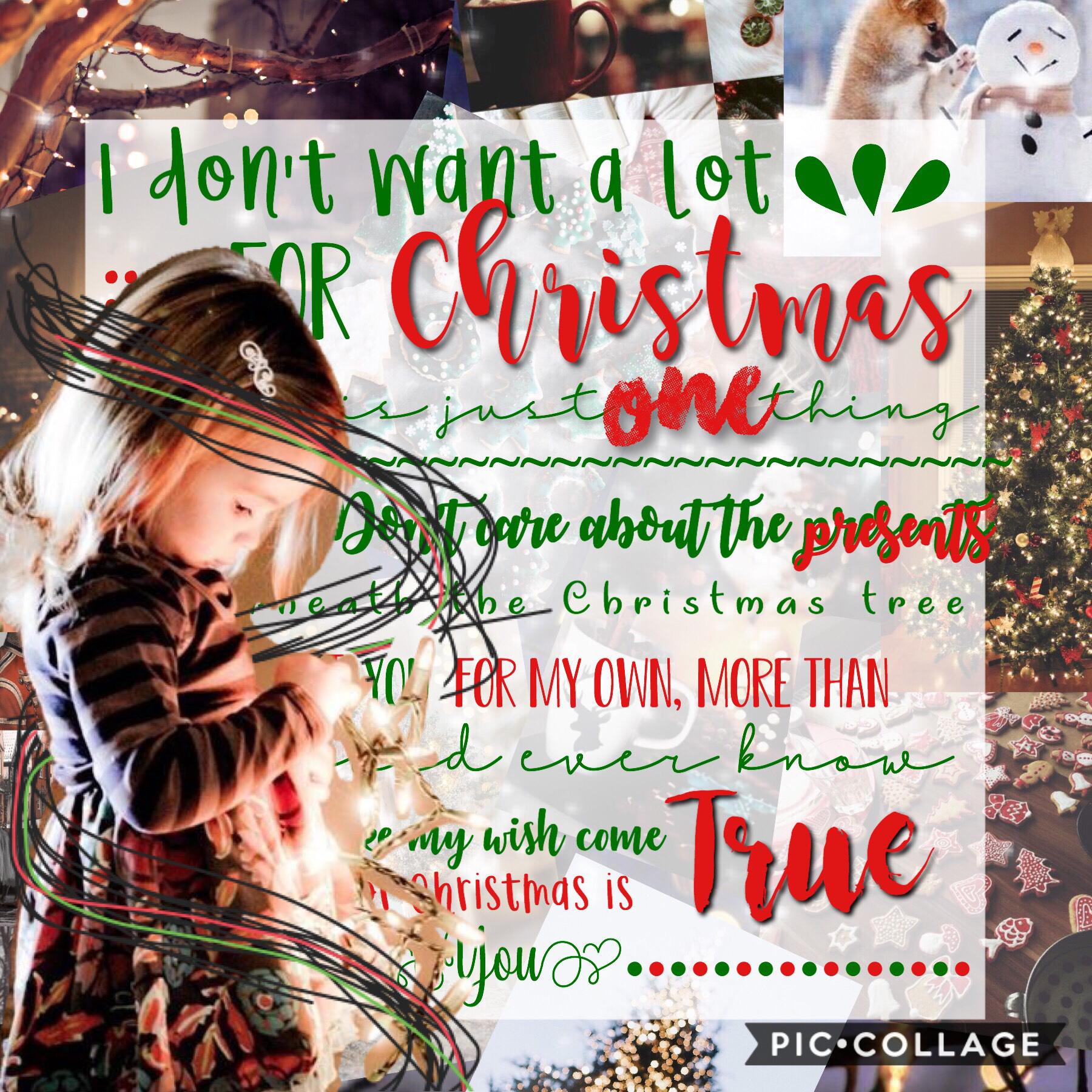 Ahhh I can't wait til Christmas (15/12/18)
