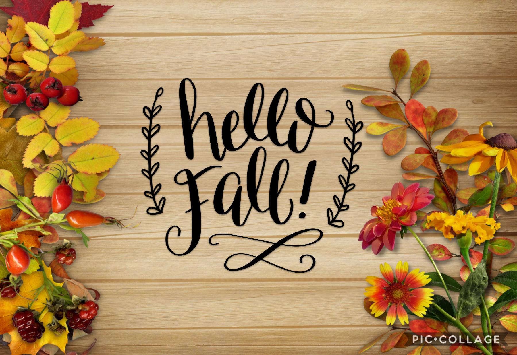 It's finally Fall!!!!