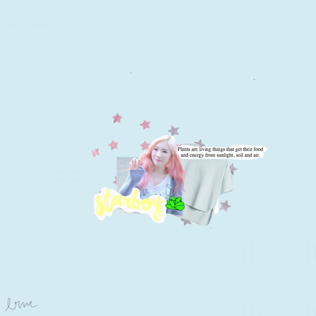 🌙 Starboy by The Weeknd. Uh... I kinda like this edit. I love this song btw. 💓 Taeyeonnnn
