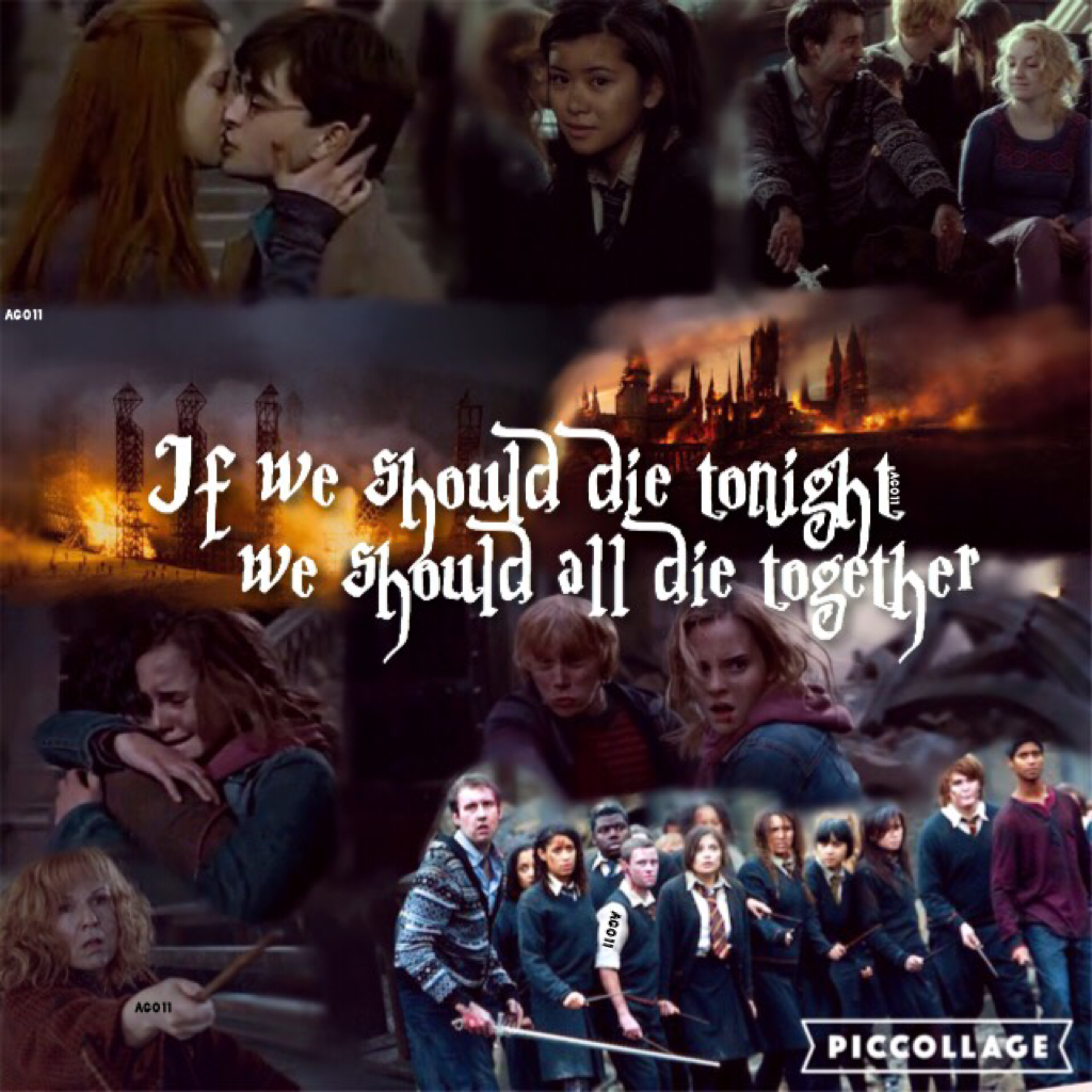 *Tap Here Please* :) It has been one heck of a week!! HOW ARE ALL OF YOU?? It's been ages since I posted! I know I barely post anymore buuuut here ya go! Lots has been going on lately, I'm always super busy! So here's another HP edit to make up my absence