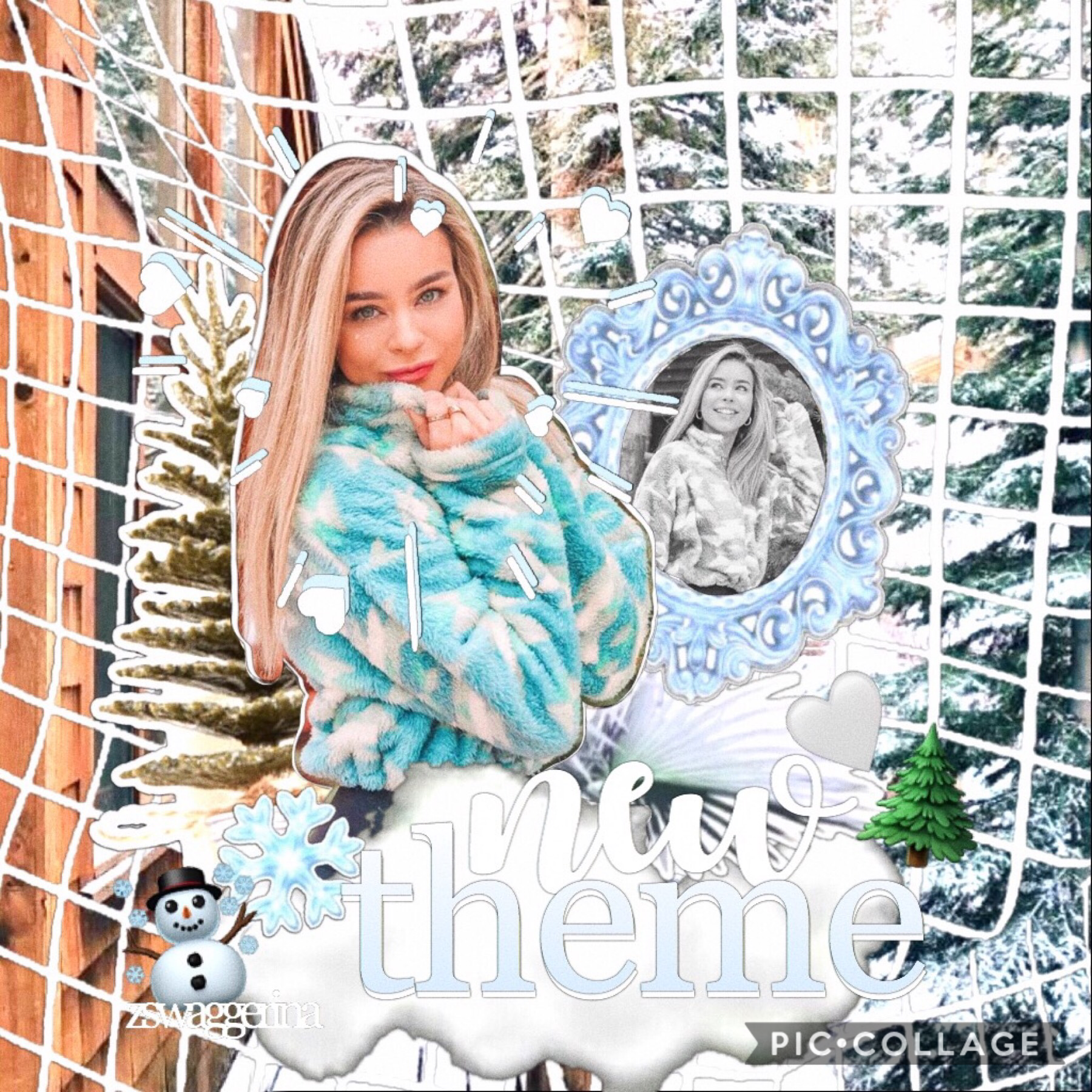 🤍 yooooo new theme y'all #winter2019 ☃️❄️🍪🥛🌲🌨🌬🌫🦌