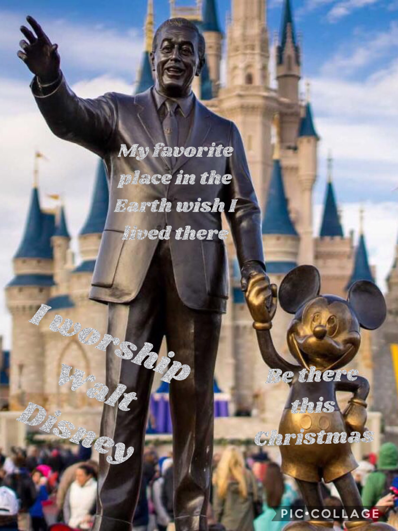 I love Disney World