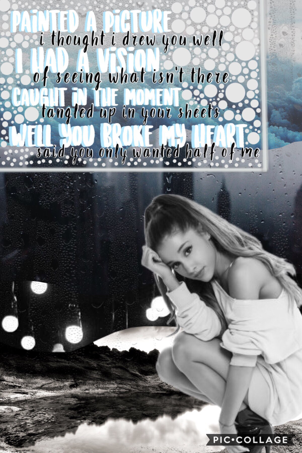 "💖Tap💖 Lyrics from ""in my head"" by Ariana Grande"