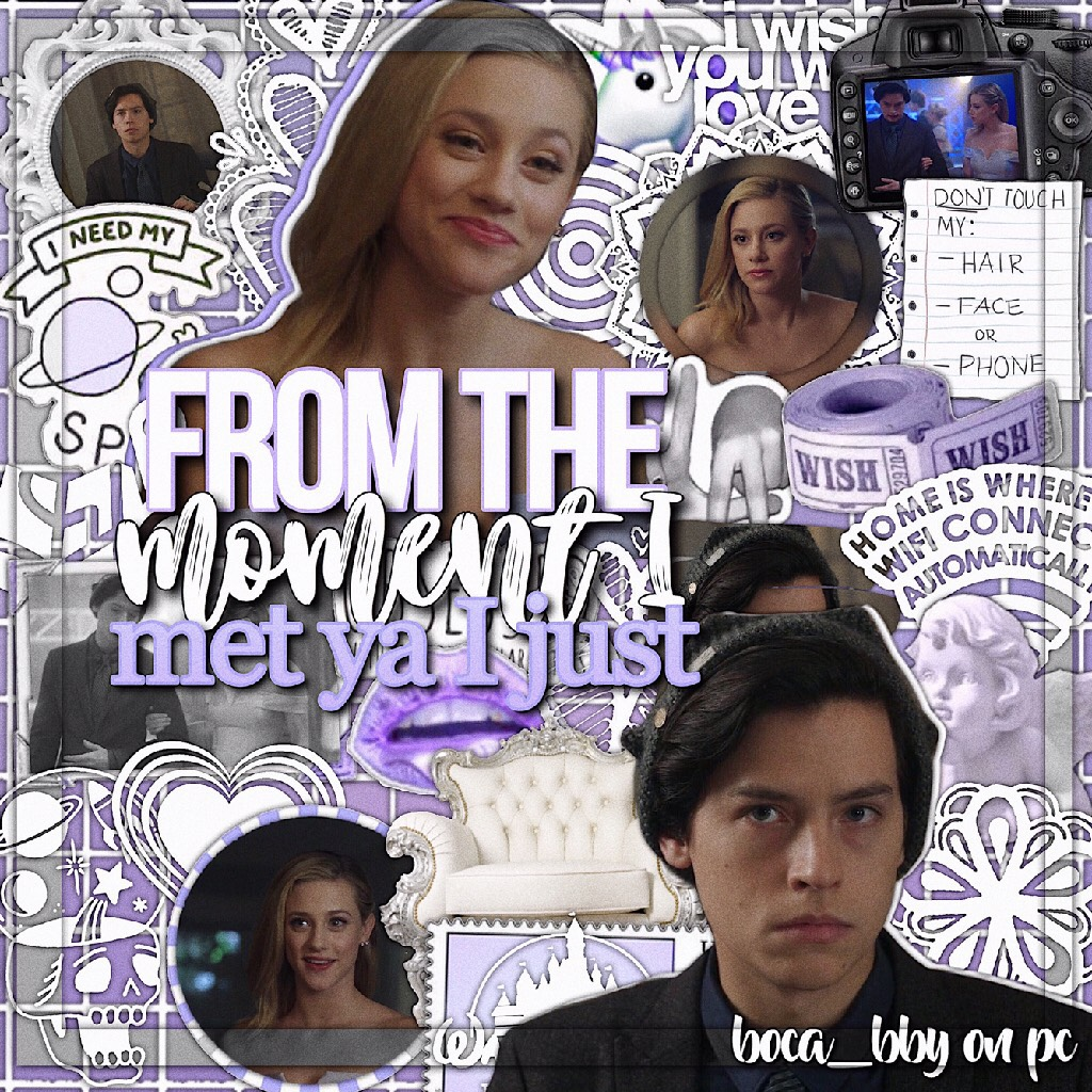 t a p [👾] Bughead edit!  Anyone want to do a riverdale collab?