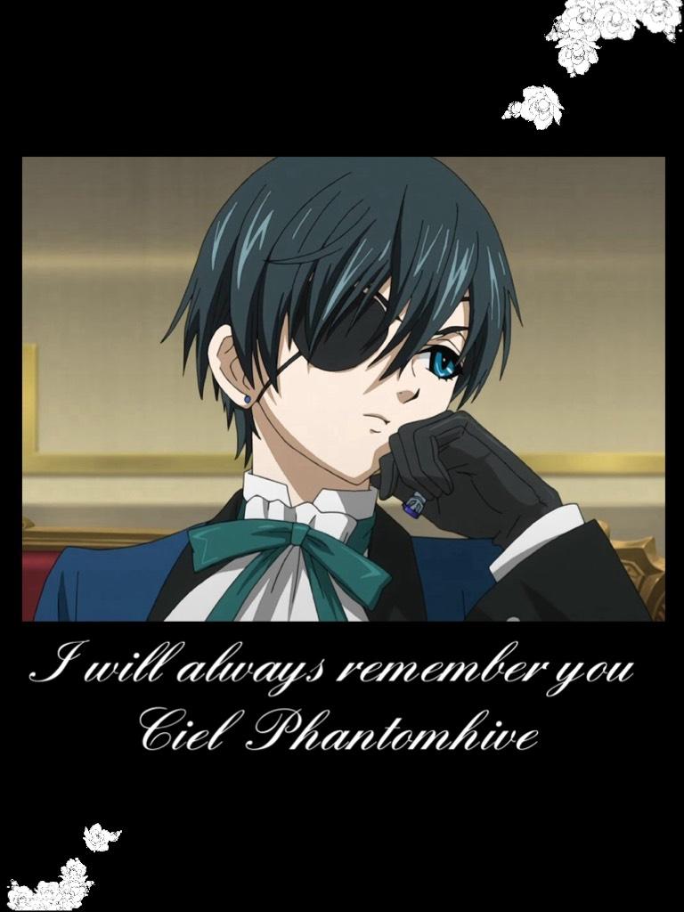 Black butler kills me sometimes. RIP Ciel