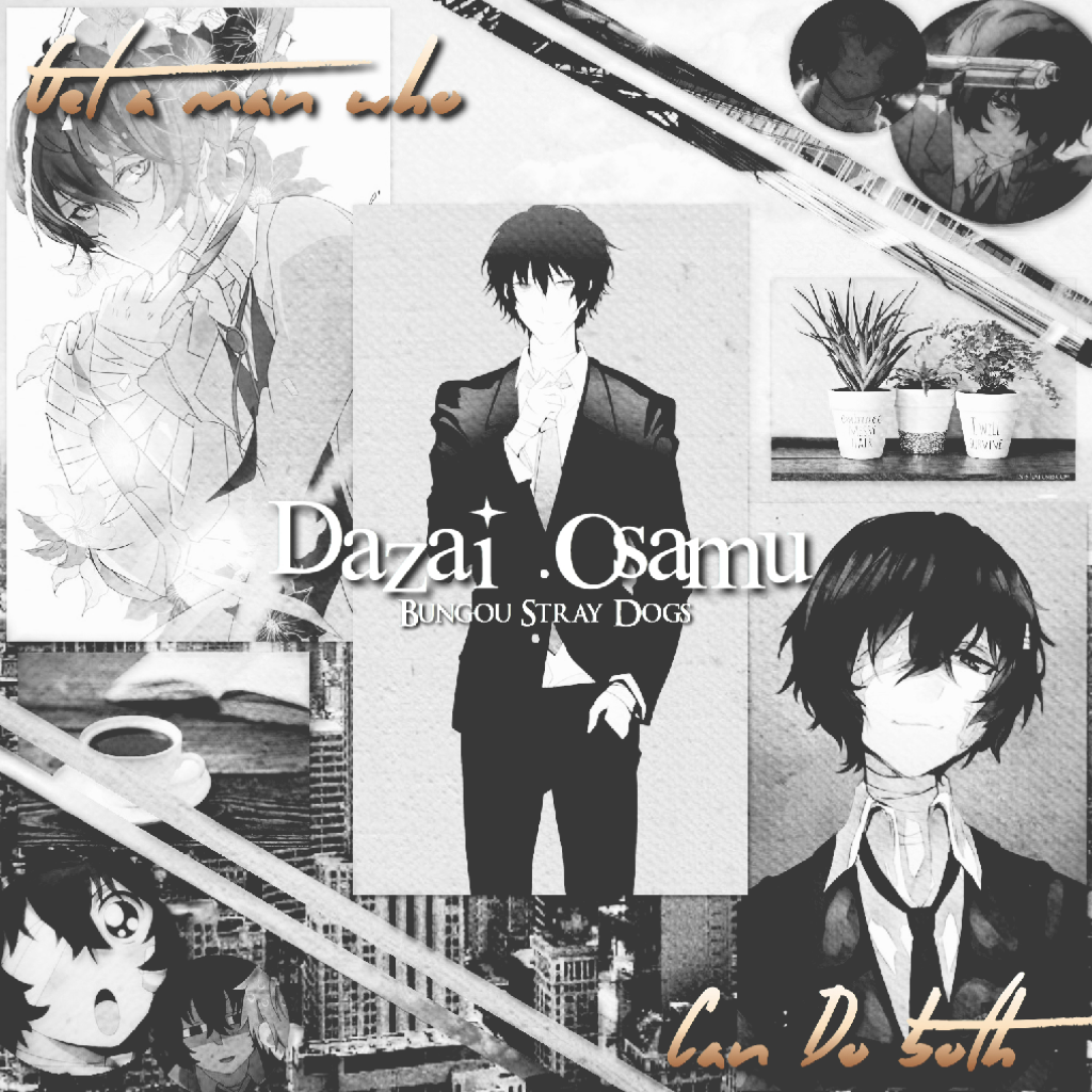 Dazai Osamu edit BSD Yeah, so this is another edit Not that good but it'll do- will probably delete  later