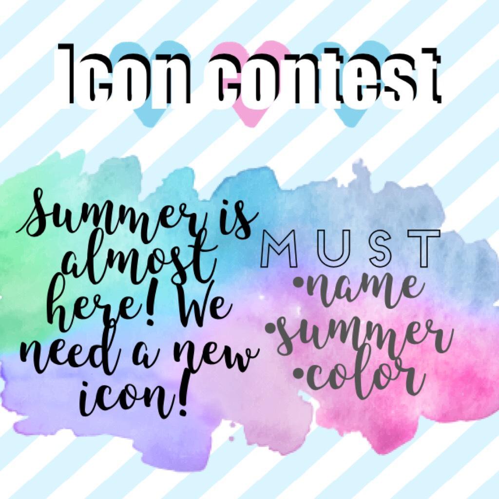 Icon contest!!!