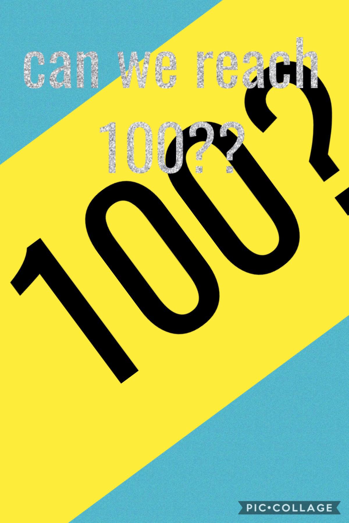 tap 100 followers?????? 💓