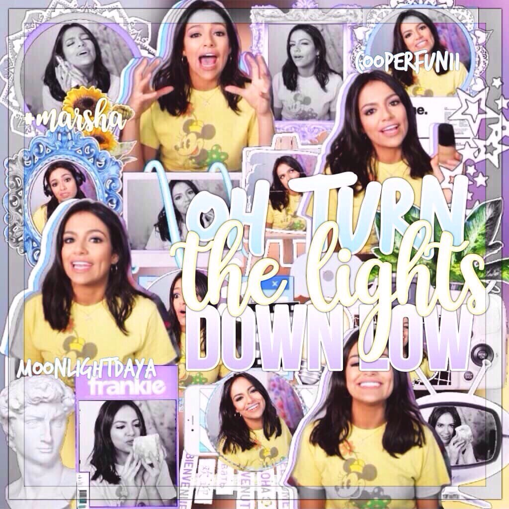 Collab with ashaaa😻💜omggg i love ittt🌷💿👏🏻I loved collabing with youuu🎐