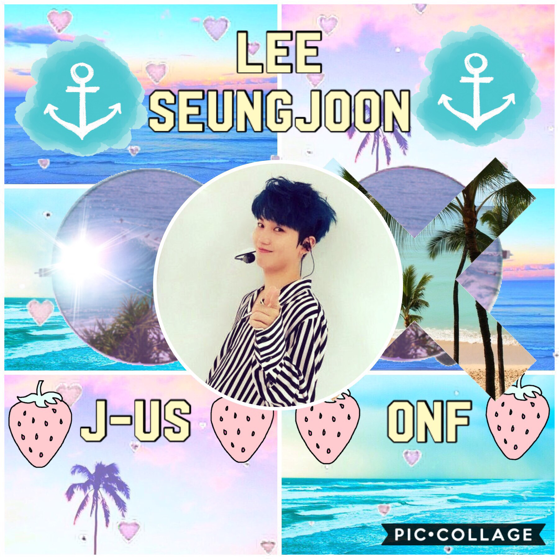 •Whoop Whoop• 🍃J-Us~ONF🍃 Summer edit for @XxMinYoongi_BTSxX! I hope you like this Minnie!💓💓💓