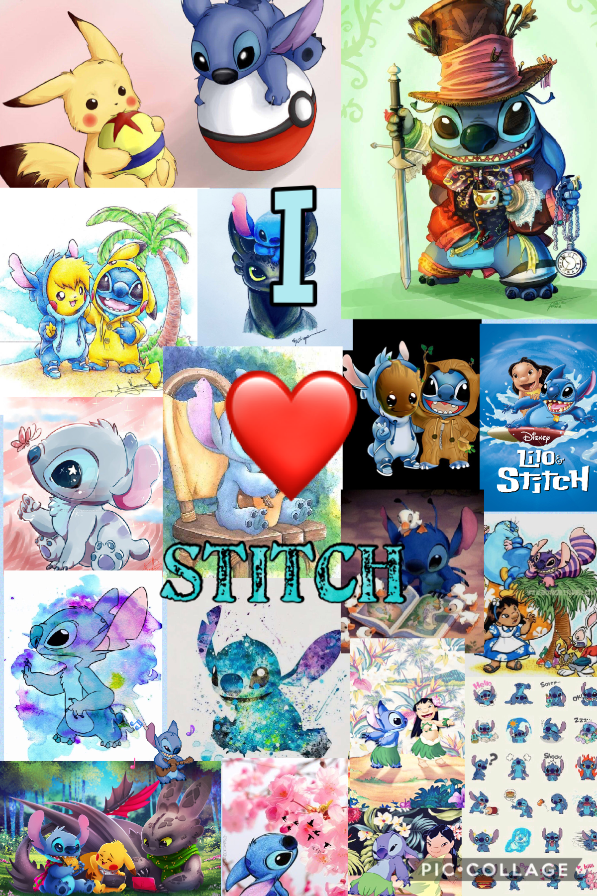 I ❤️ stitch