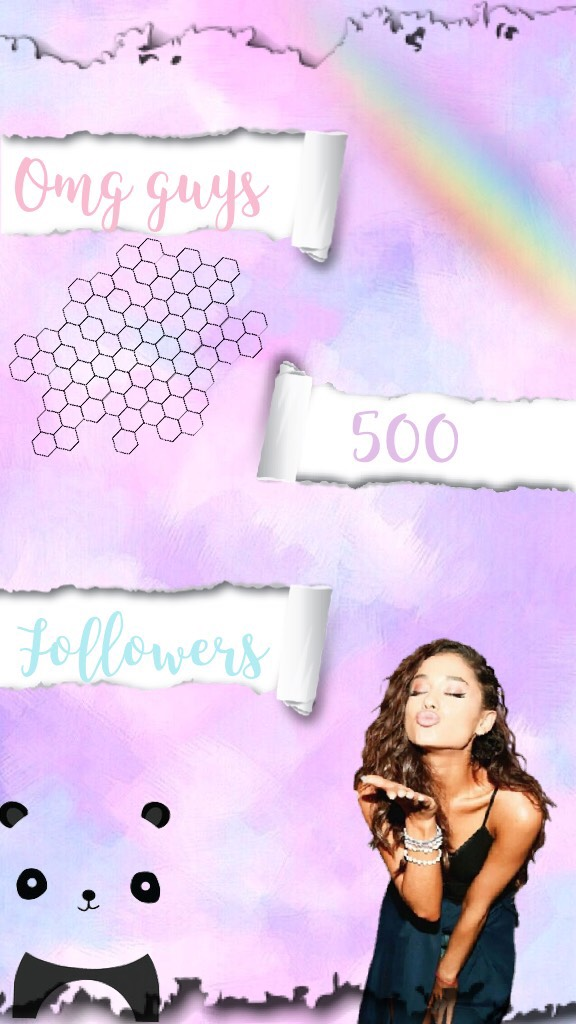 💕tap💕 I can't believe it!! 500 followers!! This is truly amazing thank u guys so much this is amazing!!!