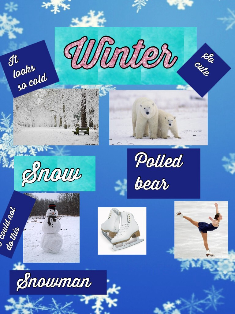 Winter   😃  tap💕