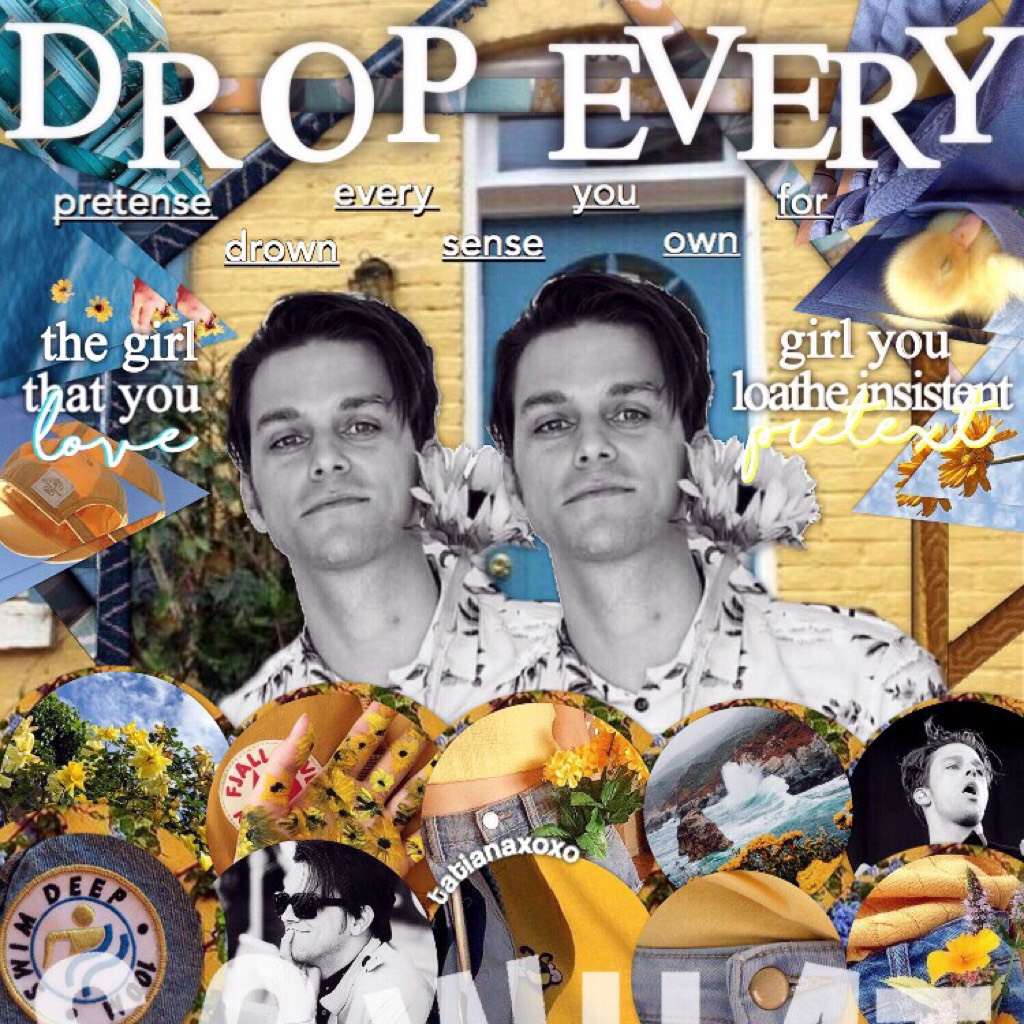 GTYL💛🌊the beautiful underrated dallon weekes everybody👏🏼💙I think I'm deciding not to do bday edits anymore or only occasionally🙃I can't decide if I hate this or not tbh🤔🌎what do think? Stay beautiful lovelies☀️🦋!!1!!1!1!im so professional now wowza