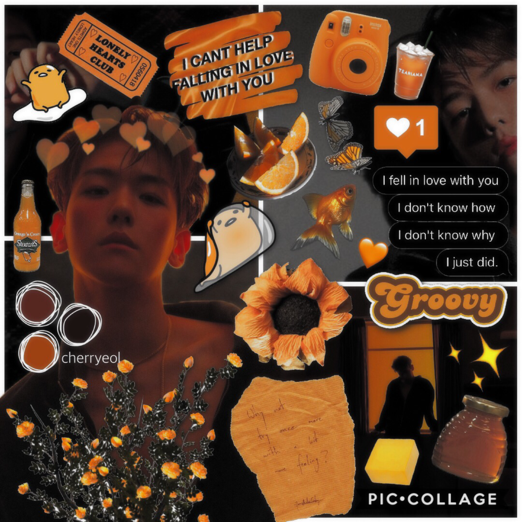 >> 🍯 click 🍯 << baekhyun 3/? edit this one seems a lot more less chaotic compared to the last one...it's really hard to put the same colours together when there's more than two :'((( — cherryeol 🍒