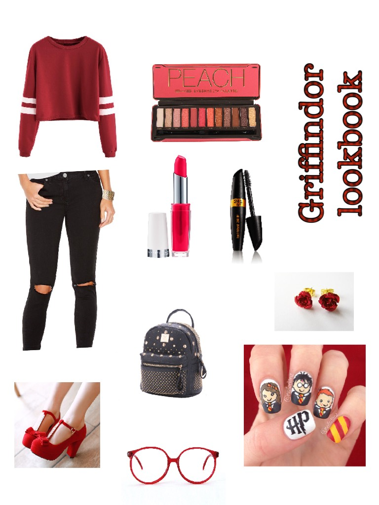 Tap for info❤️❤️❤️  Griffindor look book!!