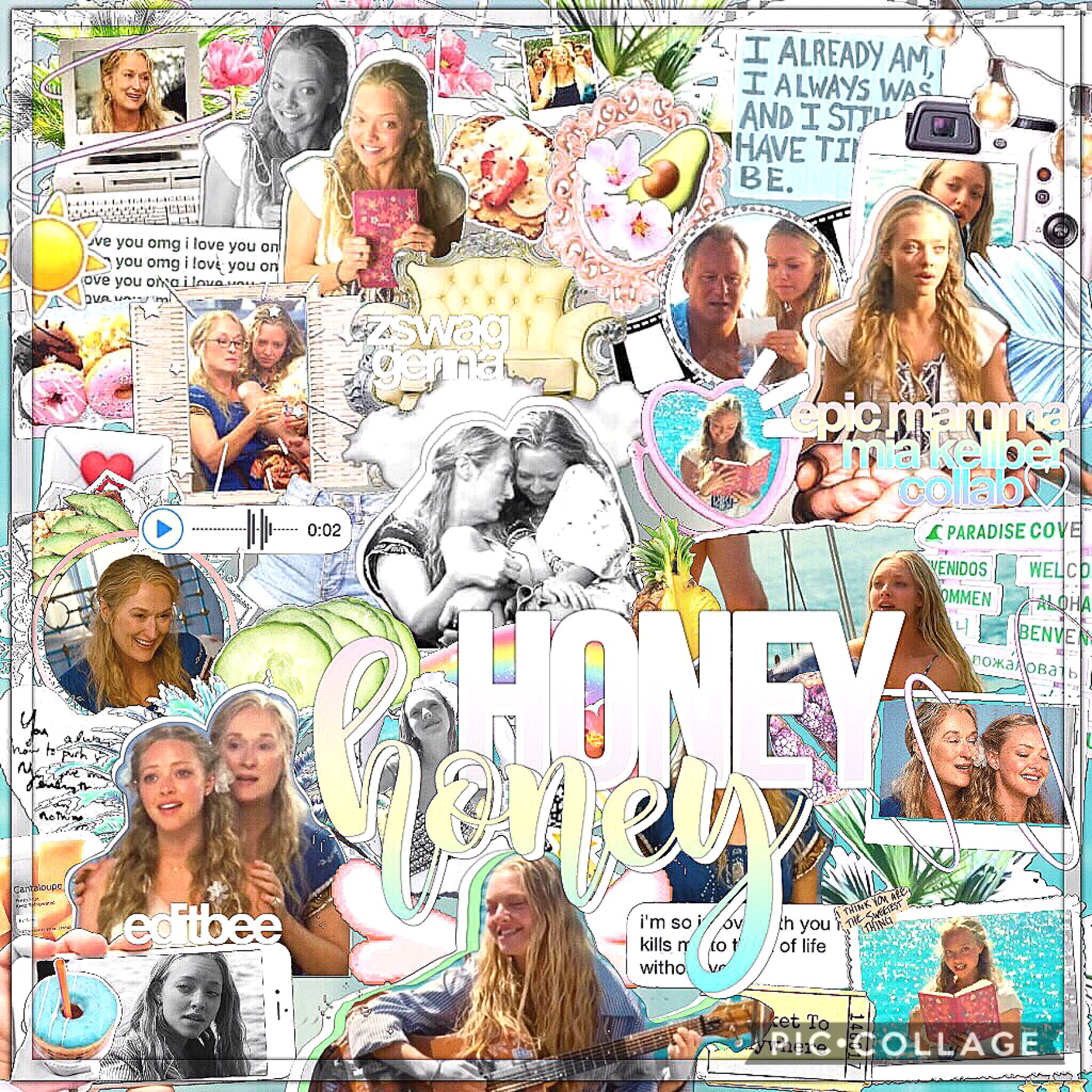 heyyy ! 🌺 collab w my bestie Kelli 🌤 follow her😍😍 spam : @editbeespam