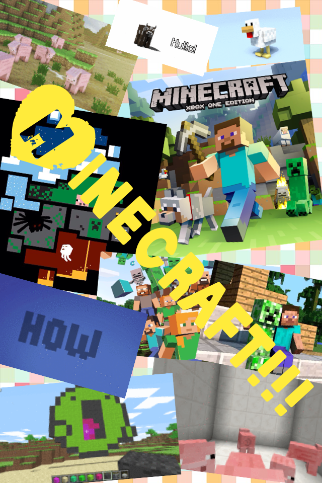 I've always loved minecraft and continue to play it! I hope you can like this game as much  as I do.💝